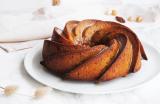 Bundt Cake Noix de pécan, glaçage à la vergeoise blonde