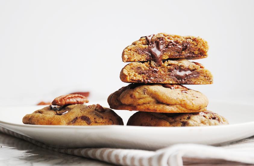 Les Meilleurs cookies – chocolat & noix de pécan