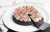 Fondant au chocolat sans farine, chantilly au mascarpone