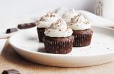 Cupcakes chocolat & ganache montée au chocolat blanc