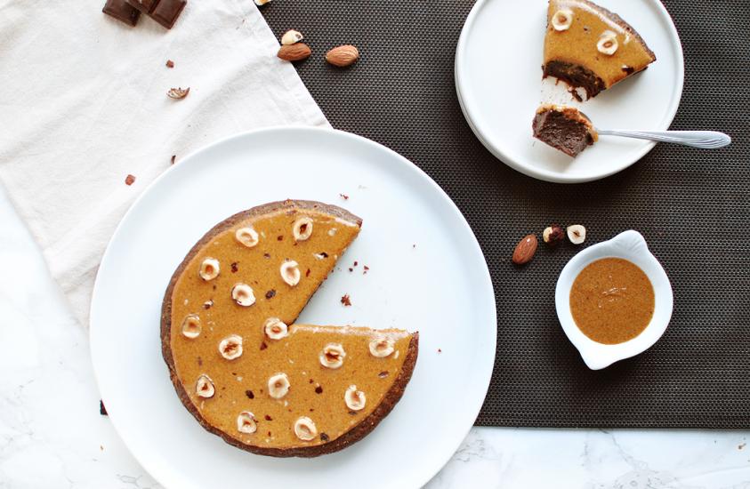 Fondant chocolat & praliné