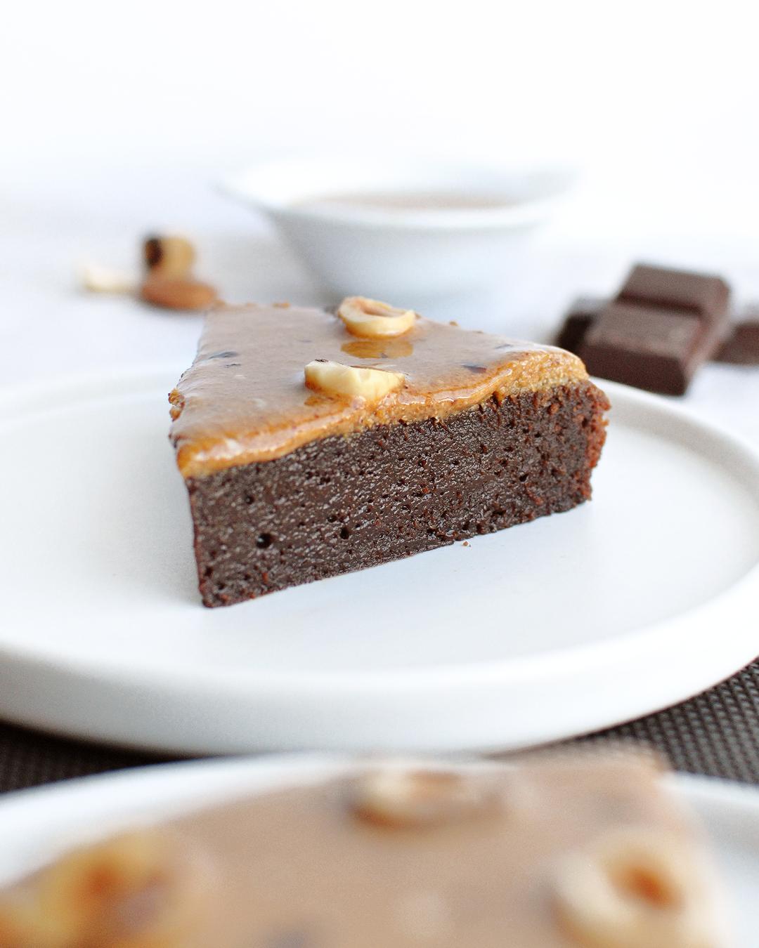 fondant chocolat praliné