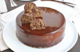 Entremets Chocolat, Vanille & Praliné
