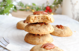 Biscuits moelleux noix de pécan & muscovado